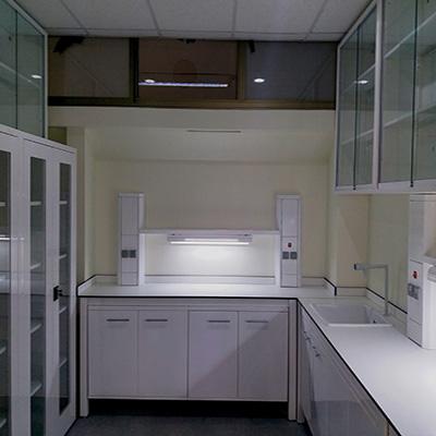 Şişli Terakki Vakfı Lisesi Laboratuvar odası